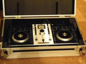Numark mixdeck used by Toronto's DJ Masters